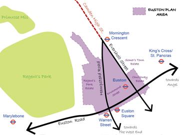 Euston Station Plan